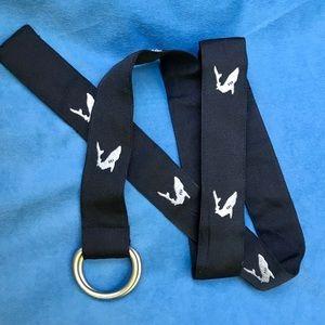 J.Crew D-Ring / Men's Shark Belt
